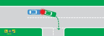 FIVE MOST COMMON CRASH TYPES FOR PROVISIONAL DRIVERS