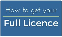 How to get your full licence