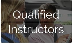 Experienced and qualified driving instructors