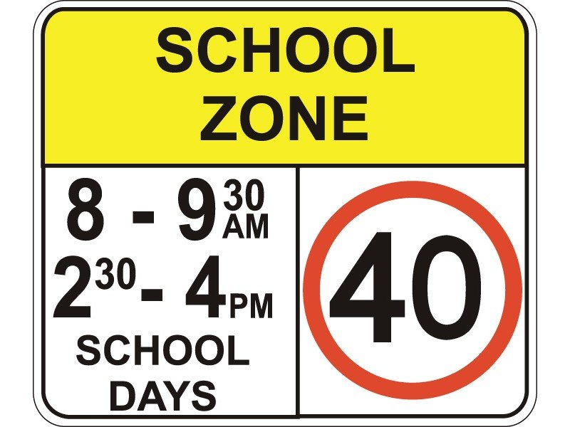 Driving in School Zones?