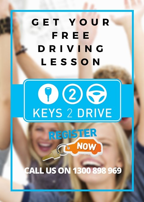register for your free keys2drive lesson