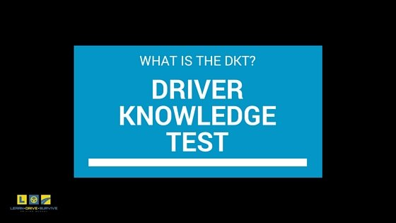 Driver Knowledge Test (DKT)
