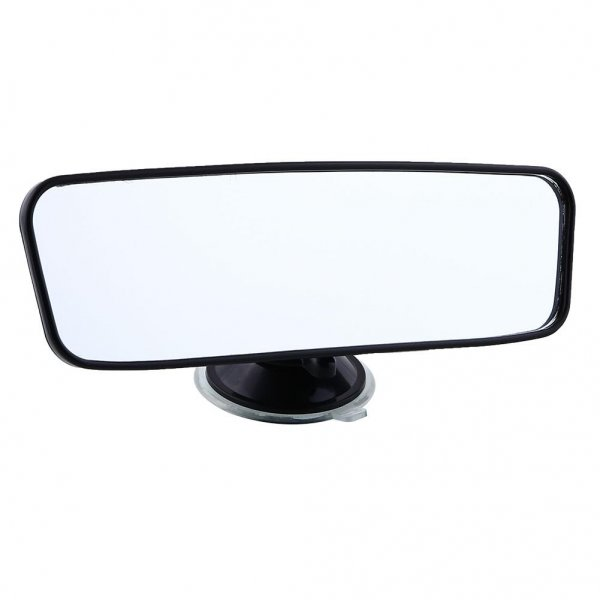 Universal suction rear view mirror