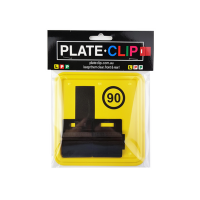 Cheap Black Plate Clips with 2 x L Plates