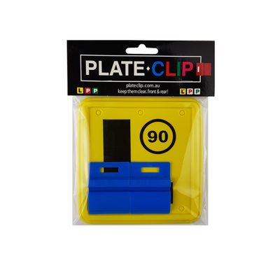 Cheap blue Plate Clips with 2 x L Plates