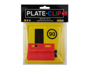 Chap Red Plate Clips with L Plates