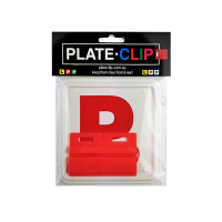 Cheap Red L & P Plate holders wth Red P Plates