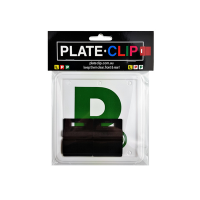 Cheap Black L & P Plate holders wth Green P Plates
