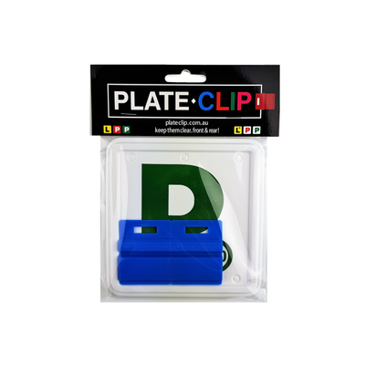 Cheap Blue L & P Plate holders wth Green P Plates