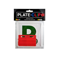 Cheap Red L & P Plate holders wth Green P Plates