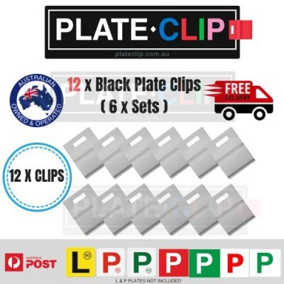 Plate Clips Only $1.60 a Set