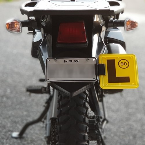 L & P Plate Holders for Motor Cycles
